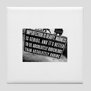 Imperfection Tile Coaster