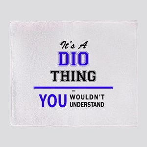 It's DIO thing, you wouldn't underst Throw Blanket