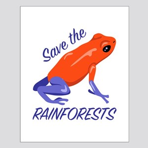 Save Rainforests Posters