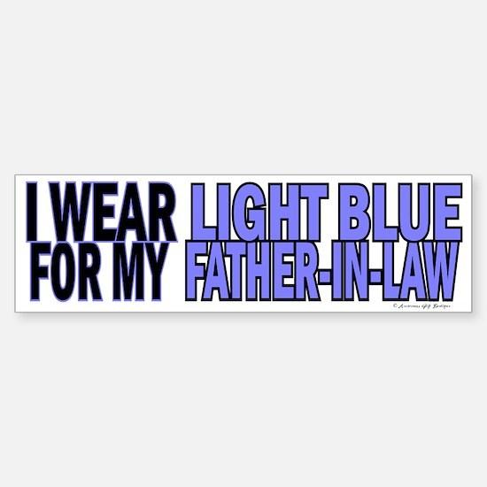 I Wear Light Blue For My Father-In-Law 5 Bumper Bumper Sticker