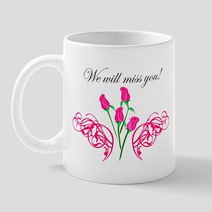 wewillmissyou copy Mugs