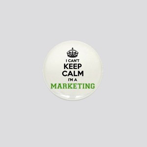 Marketing I cant keeep calm Mini Button