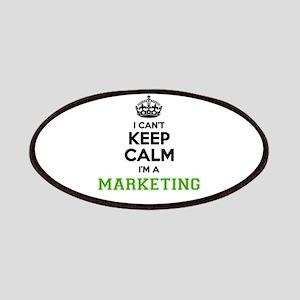 Marketing I cant keeep calm Patch
