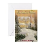 Love Under the Mistletoe Greeting Cards (Pk of 10)