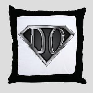 SuperDO(metal) Throw Pillow