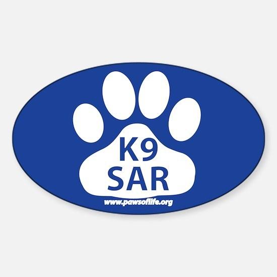 K9 SAR Decal