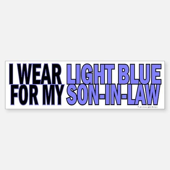 I Wear Light Blue For My Son-In-Law 5 Bumper Bumper Sticker