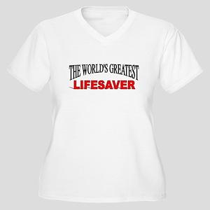 """The World's Greatest Lifesaver"" Women's Plus Size"