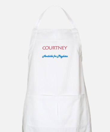 Courtney - Available For Play BBQ Apron