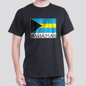 Bahamas Flag Ash Grey T-Shirt