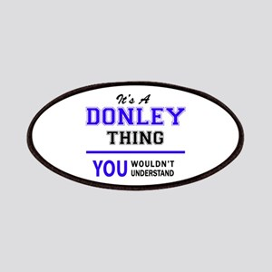 It's DONLEY thing, you wouldn't understand Patch