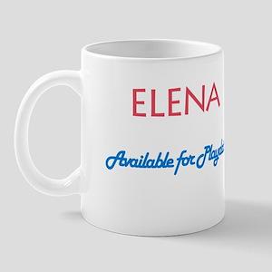 Elena - Available For Playdat Mug