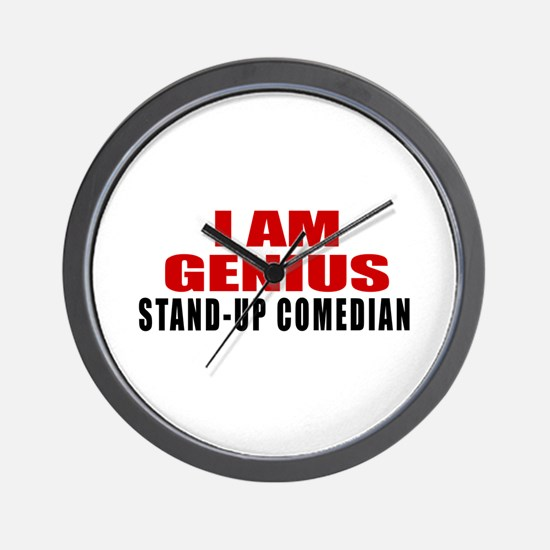 I Am Genius Stand-up comedian Wall Clock