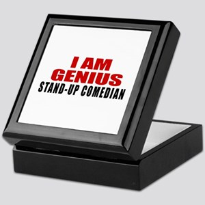 I Am Genius Stand-up comedian Keepsake Box