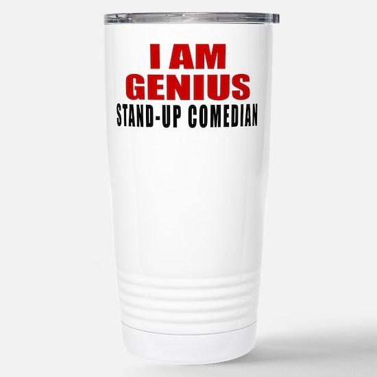 I Am Genius Stand Travel Mug