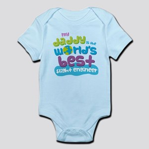 Flight Engineer Gifts for Kids Infant Bodysuit