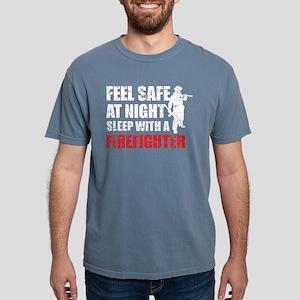 Sleep With A Firefighter T Shirt T-Shirt
