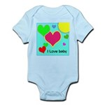 I Love Baby - Infant Body Suit