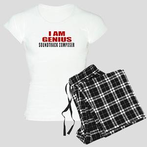 I Am Genius Soundtrack comp Women's Light Pajamas