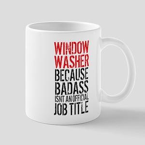Badass Window Washer Mugs
