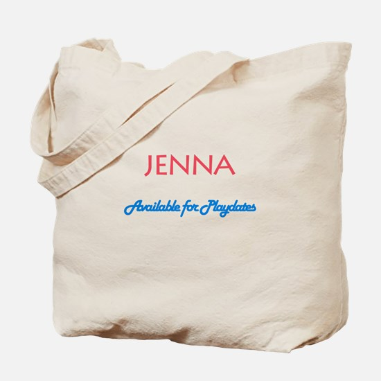 Jenna - Available For Playdat Tote Bag