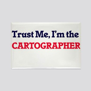 Trust me, I'm the Cartographer Magnets