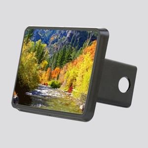 Wood camp Rectangular Hitch Cover