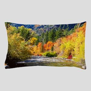Wood camp Pillow Case