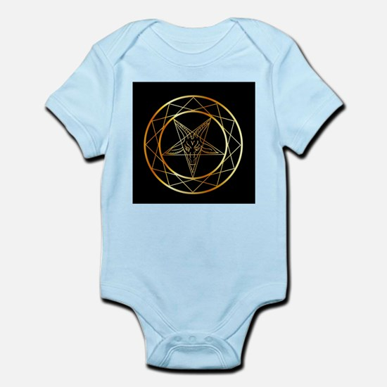 Golden sigil of Baphomet Body Suit