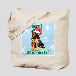 Holiday GSD Tote Bag