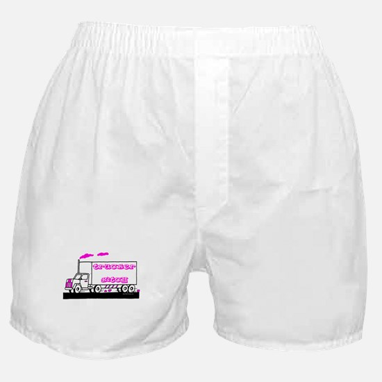 Trucker Bitch Shirt and Gift Boxer Shorts
