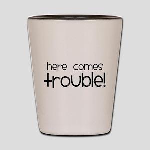 Trouble Shot Glass