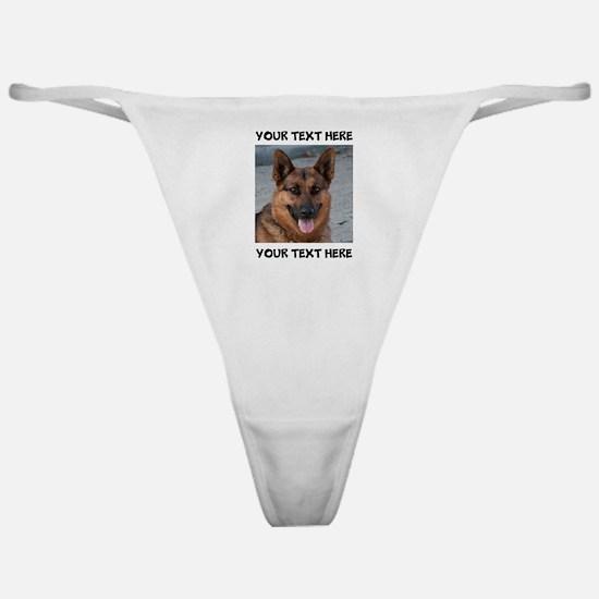 Dog German Shepherd Classic Thong