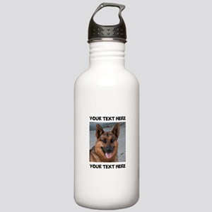 Dog German Shepherd Stainless Water Bottle 1.0L