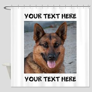 Dog German Shepherd Shower Curtain