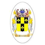 Simenet Sticker (Oval 50 pk)