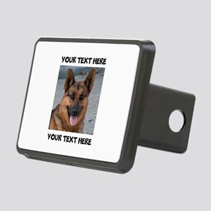 Dog German Shepherd Rectangular Hitch Cover