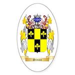 Simao Sticker (Oval 10 pk)
