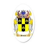 Siman Oval Car Magnet