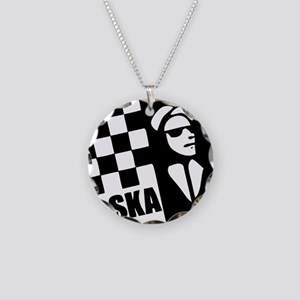 Ska Rude Boy and Rude Girl Necklace Circle Charm