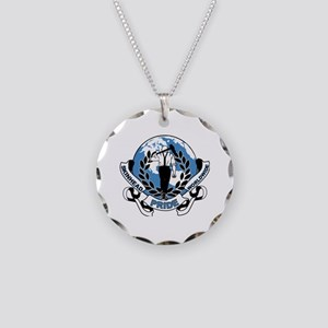 Skinhead Pride Necklace Circle Charm