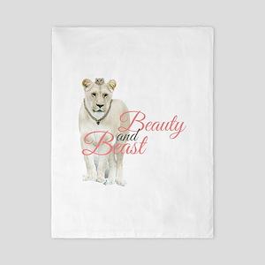 Beauty and Beast Twin Duvet
