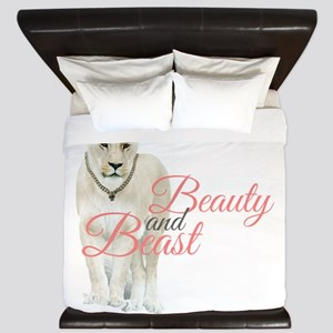 Beauty and Beast King Duvet