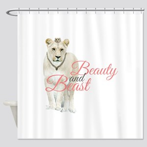 Beauty And Beast Shower Curtain