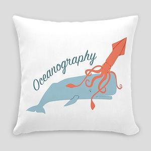 Oceanography Everyday Pillow
