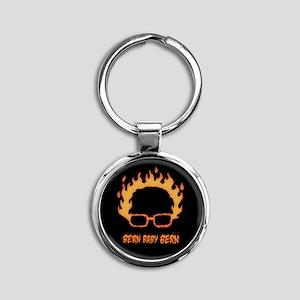 Bern Bernie Bean Round Keychain