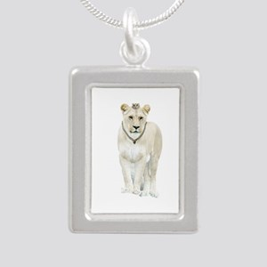 White Lioness Necklaces