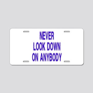 Most Popular Designs Aluminum License Plate
