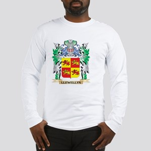 Llewellyn Coat of Arms - Famil Long Sleeve T-Shirt