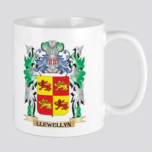 Llewellyn Coat of Arms - Family Crest Mugs